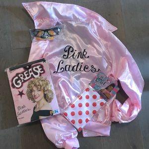 Pink ladies Grease costume